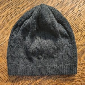 GAP Accessories - GAP Black Knit Beanie Winter Hat Small